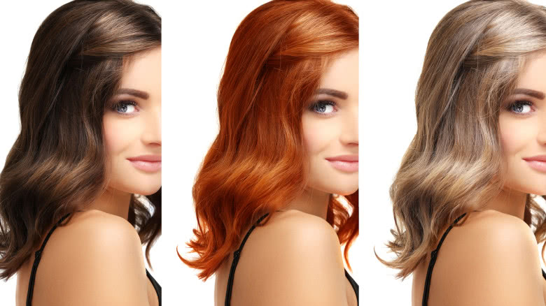 Hair color for morena beauty