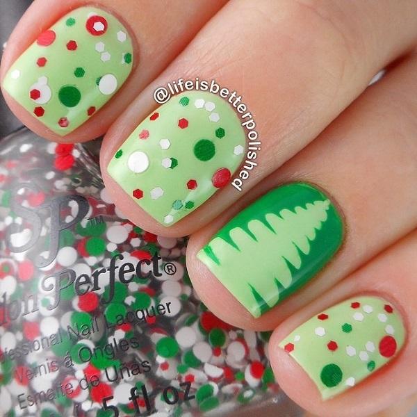 Christmas Nail Arts 5