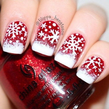 Christmas Nail Arts 6