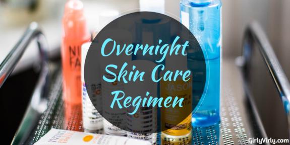 Overnight Skin Care Regimen