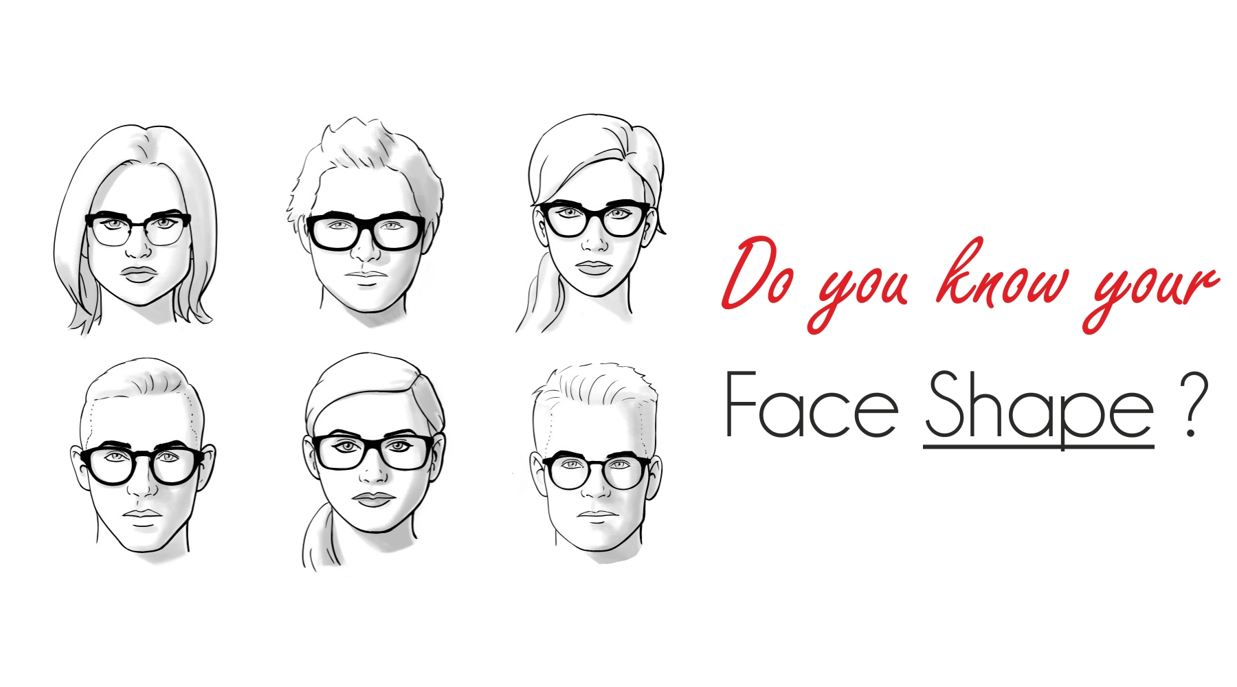 How to determine the shape of the face 24