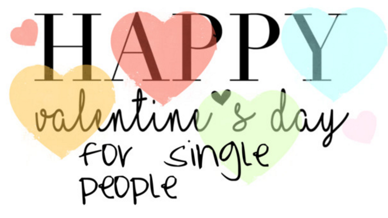 How single people can enjoy their valentines day girlyvirly how single people can enjoy their valentines day ccuart Gallery