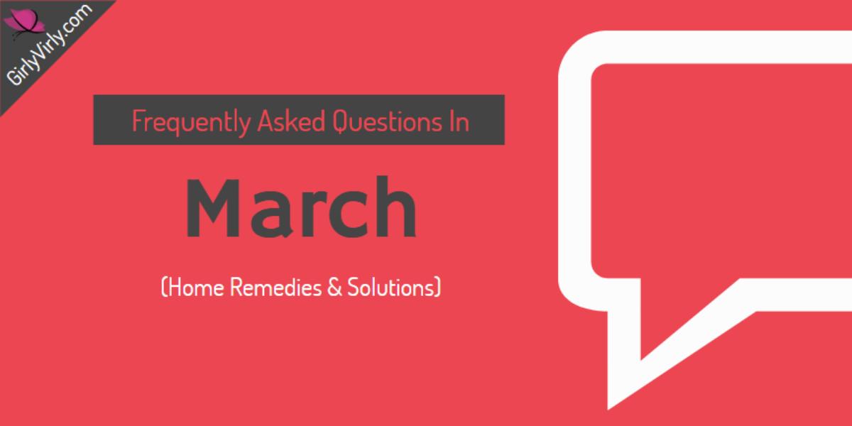 FAQ March